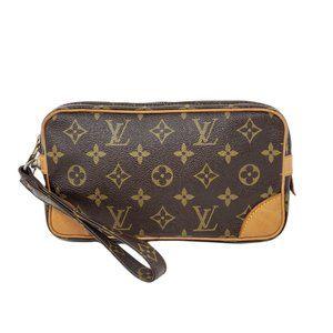 100% Auth Louis Vuitton Marly Dragonne GM Bag